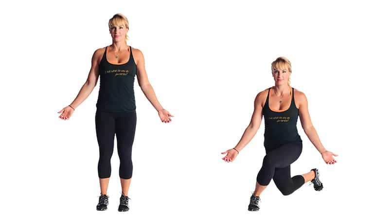 Try This Tuesday: Bodyweight Curtsy Lunge | Unapologetically Strong